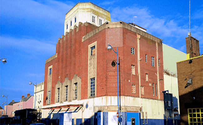 Plymouth Theatre Building, Devon